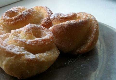 Творожное печенье «Роза»: по…