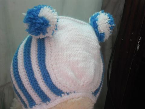 комплект для новорожденного ( комбезик, шапочка и пинеточки)