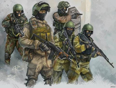 Современный спецназ. В чем е…