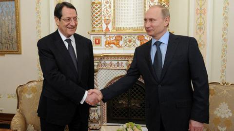 Путин и глава Кипра обсудят …