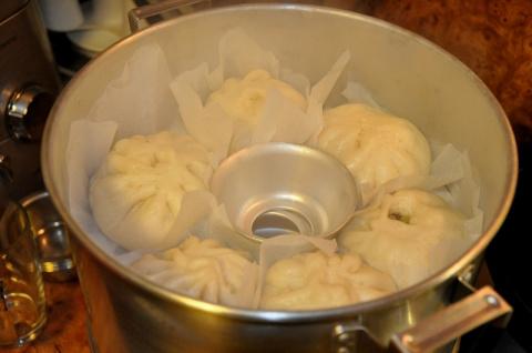 ПАРОВЫЕ БУЛОЧКИ (Корейская кухня)