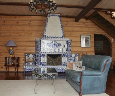 Как оформить интерьер в деревянном доме