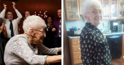 Женщина в 85 лет сумела изме…
