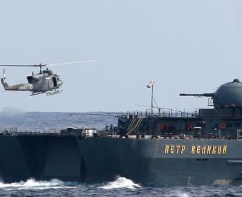"""Британский флот шокировало то, как """"Пётр Великий"""" отогнал эсминец НАТО"""