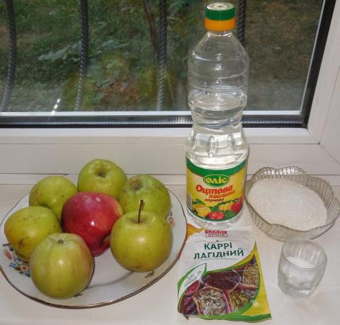 Пикантный кисло-сладкий яблочный соус на зиму