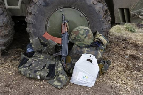 Гражданская война на Украине…