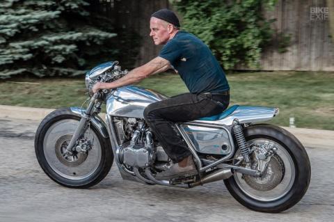 Кастом из мотоцикла Honda Gold Wing