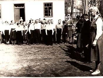Вотилівська школа: старе приміщення