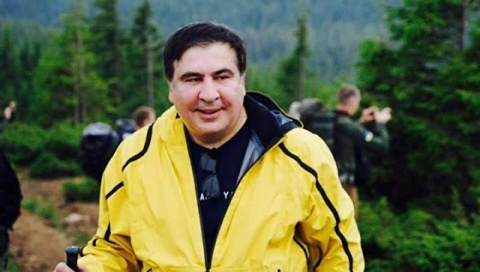 Саакашвили назвал дату возвращения на Украину