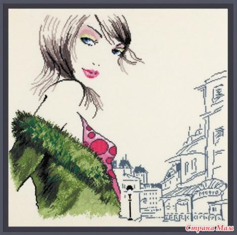 Ищу схемы Парижанок от Овен