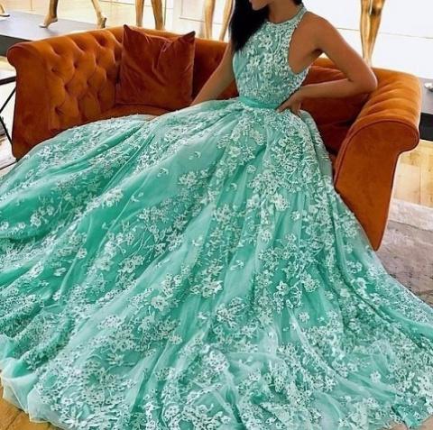 Супер! Платье, достойное королевы...