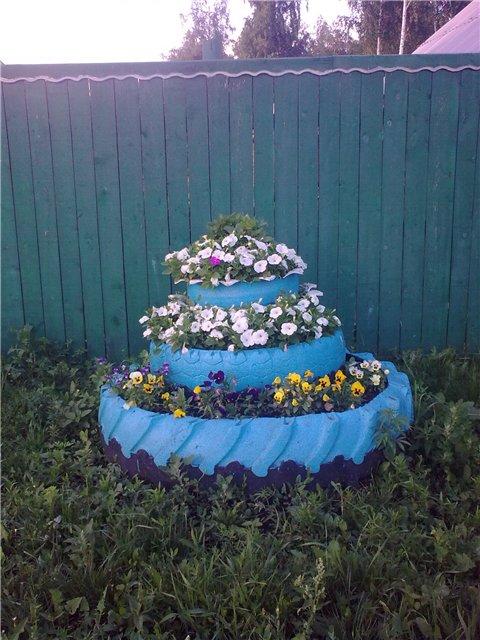 Идеи для дачи и сада своими руками..
