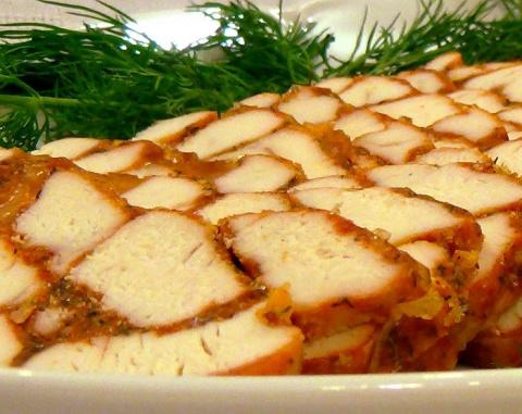 Диетическое домашнее мраморное мясо - просто, вкусно и оригинально!