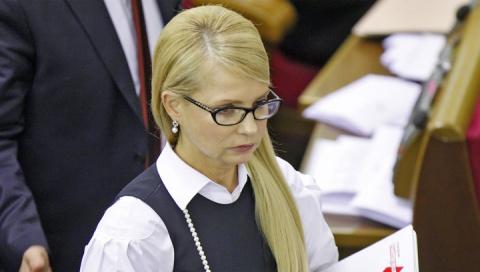 """Тимошенко назвала премьера Украины """"пупырышком"""""""