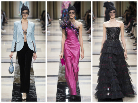 Armani Privé Haute Couture осень-зима 2017-2018
