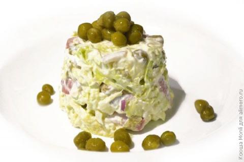 Салат с савойской капустой и…