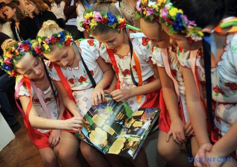 Детей на подконтрольной Киев…