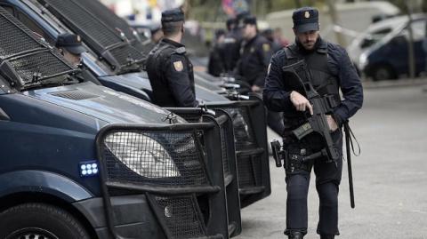 Полиция Каталонии застрелила…