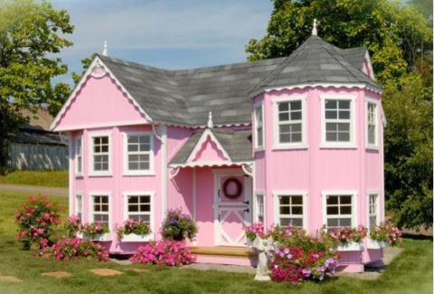 Опыт строительства домика для дочки от чайника