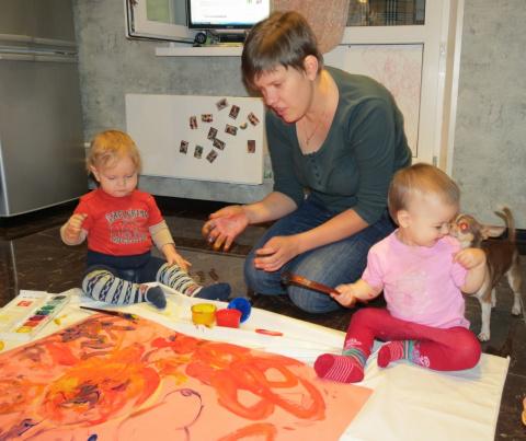 индивидуальные занятия по изо для детей с 3 лет