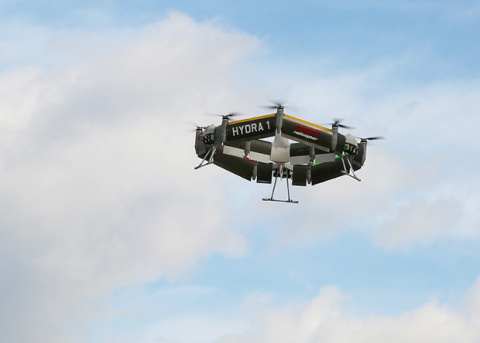 В США испытали колесообразный беспилотный «тейлситтер»