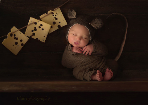 Младенцы становятся обитателями волшебных миров благодаря фантазии фотохудожницы