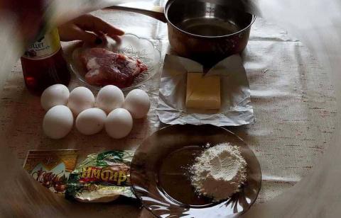 """Из цикла """"Кухня дяди Жени"""". Желтый суп"""