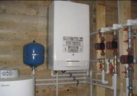 Газовое отопление частного д…