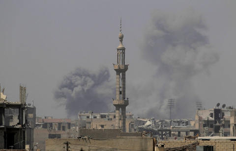 В Сирии под ударами коалиции погибли 78 мирных жителей