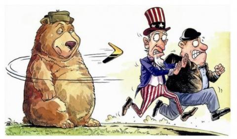 США и санкции — целились в Р…