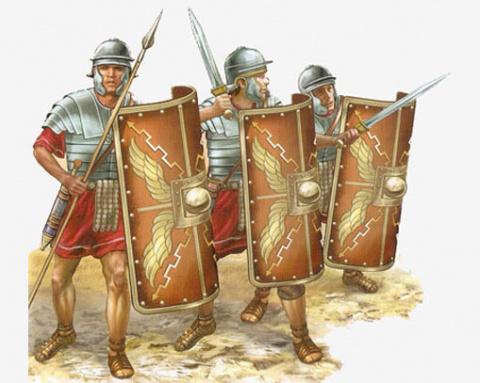 Древние цивилизации. Римские легионеры