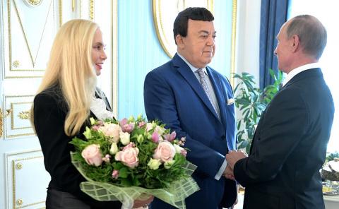 Владимир Путин поздравил Иос…