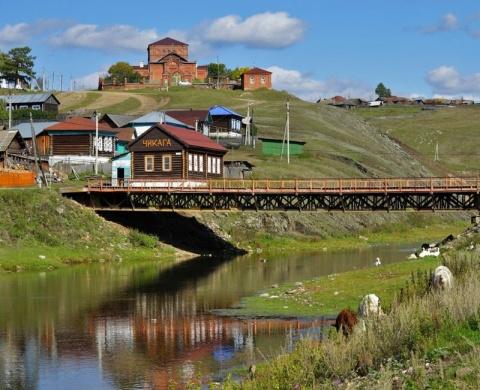 Сельские зарисовки. Село Кага Белорецкого района Башкирии