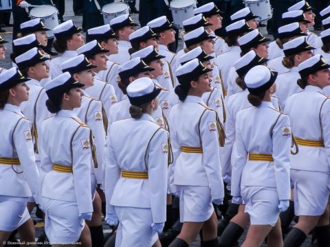 Женщины в Российской армии: …
