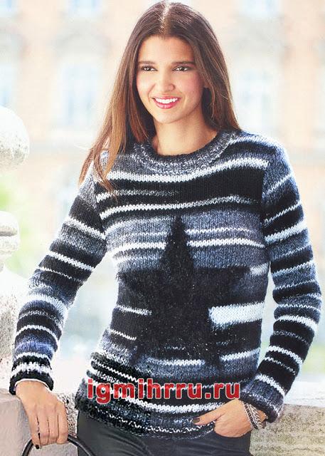 Два классических пуловера спицами