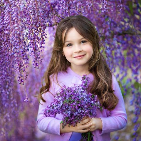 Великолепная детская портрет…