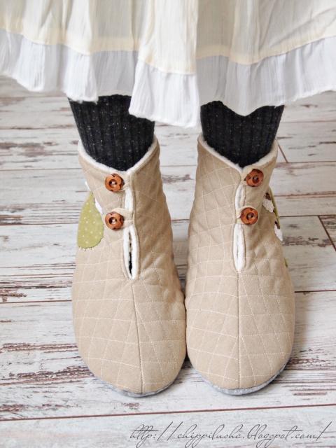 """Ботиночки домашние """"Прелесть"""""""
