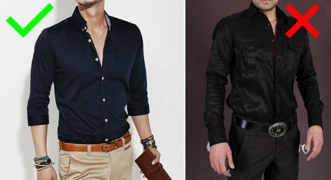 Советы по выбору мужской одежды
