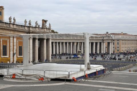 Ватикан. Главная площадь