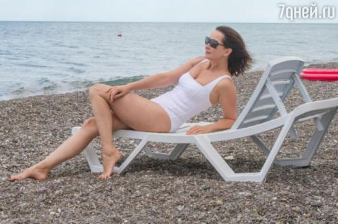 49-летняя Ольга Кабо восхити…