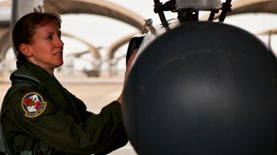 Военные лётчики США протести…