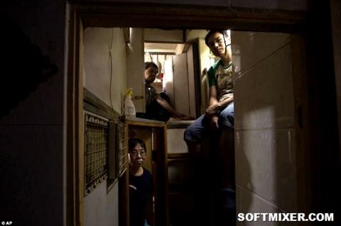 Жизнь внутри гонконгских кро…
