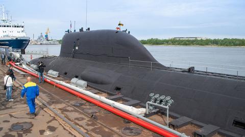 Подлодка в Баренцевом море провела стрельбу крылатой ракетой «Калибр»