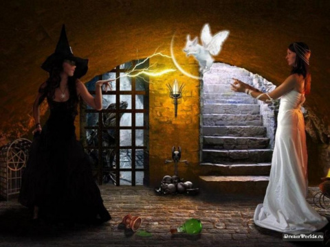 Насколько опасна черная и белая магия?