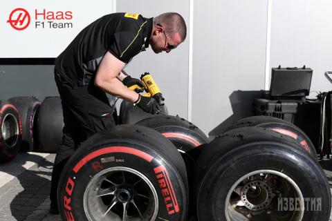 Подготовка к Гран-при «Формулы-1» в Сочи