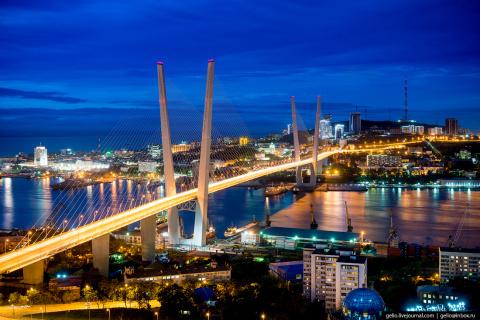 Красивейшие виды Владивосток…