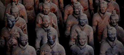 В гробнице императора Шихуан…
