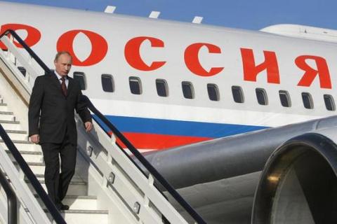 Над Украиной должны были сбить самолет Путина
