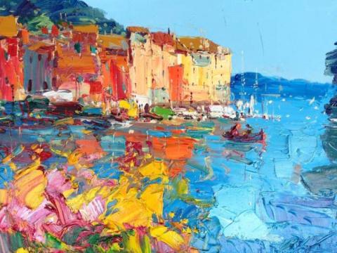Итальянский художник AGOSTINO VERONI