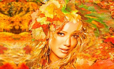Осень я согрею...